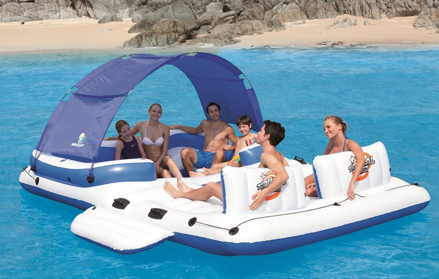 Bestway-CoolerZ-Tropical-Breeze-6-Person-Floating-Island