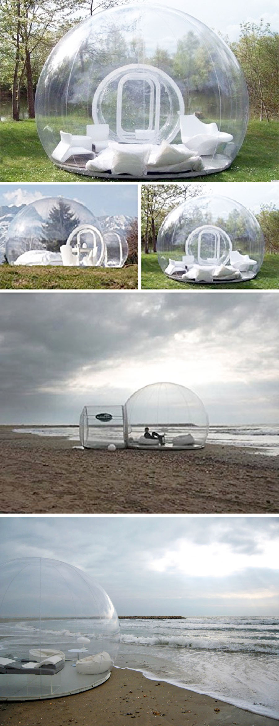 Inflatable Bubble Tent House