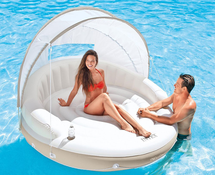 Intex-Canopy-Island-Inflatable-Lounge