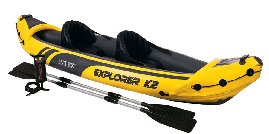 Intex Challenger K2 Kayak 2-person Inflatable Kayak