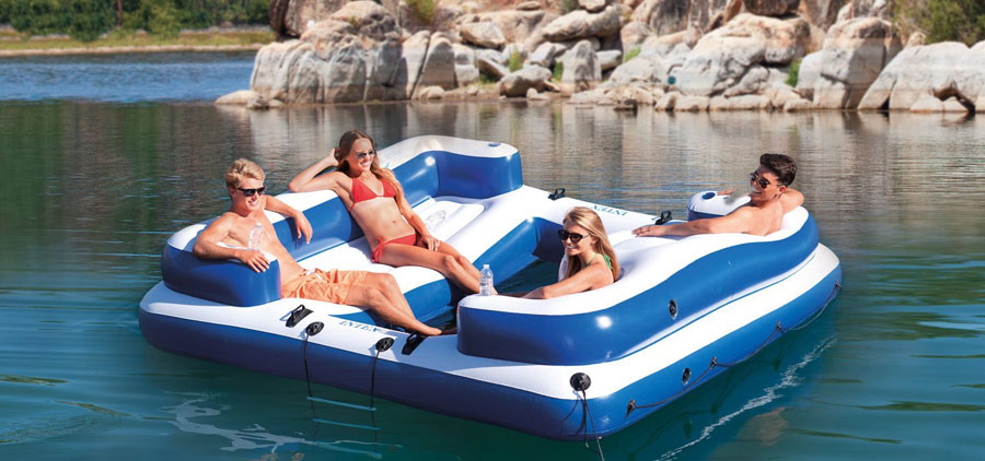 Best Inflatable Pool Rafts Amp Floats For The Beach 2019