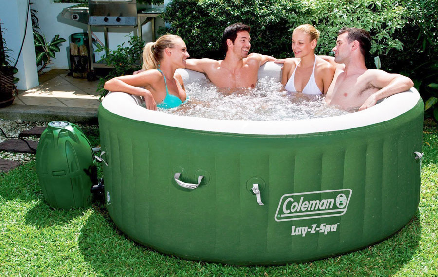 Costco Portable Spa : Coleman lay z spa inflatable hot tub review