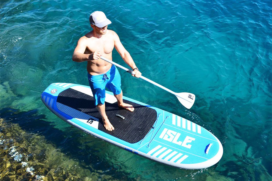 ISLE Airtech® 10' All Around Inflatable SUP