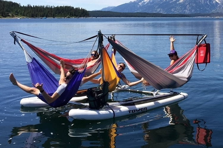 Hammocraft - The Hammock/Watercraft You Will Want to Try