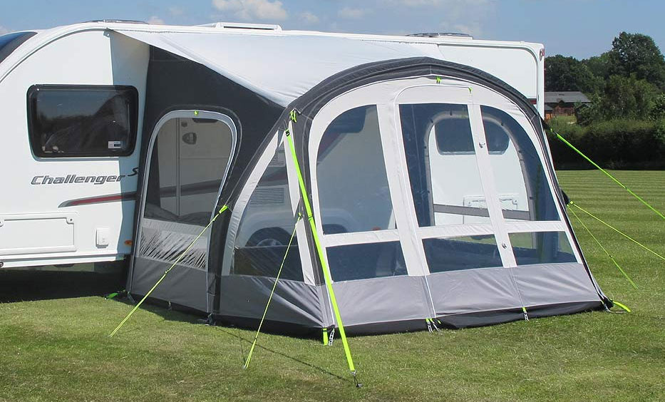 Kampa Fiesta Air Pro Inflatable Caravan Porch Awning