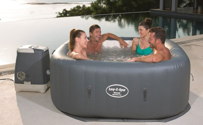 Bestway Lay-Z-Spa Hawaii HydroJet Pro Hot Tub Review