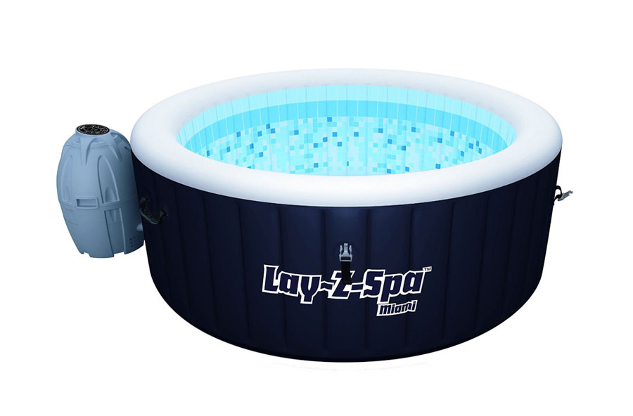 Bestway Lay-Z-Spa Miami Inflatable Hot Tub Review