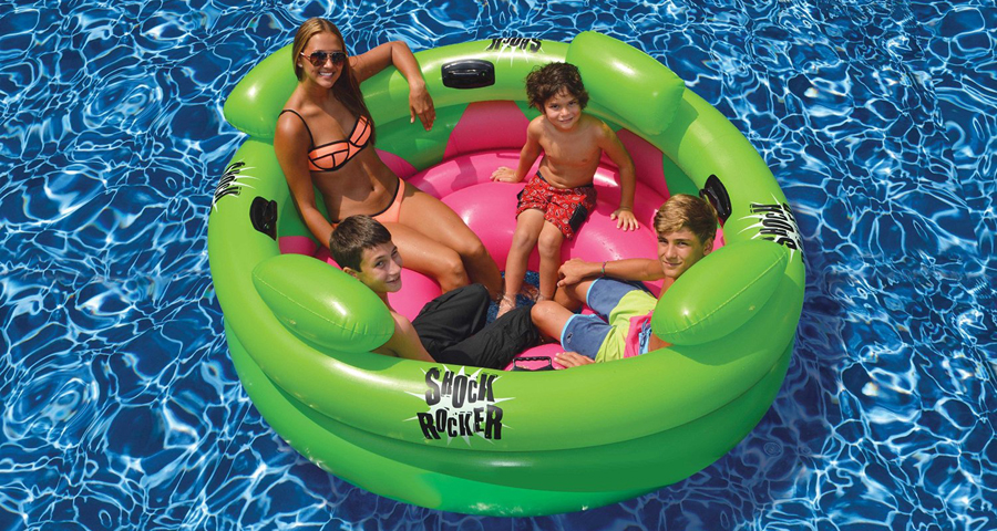 Inflatable Swimming Pool Shock Rocker by Swimline
