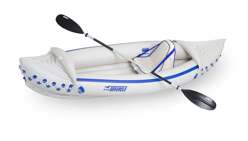 Sea Eagle SE330 Inflatable Sports Kayak Review