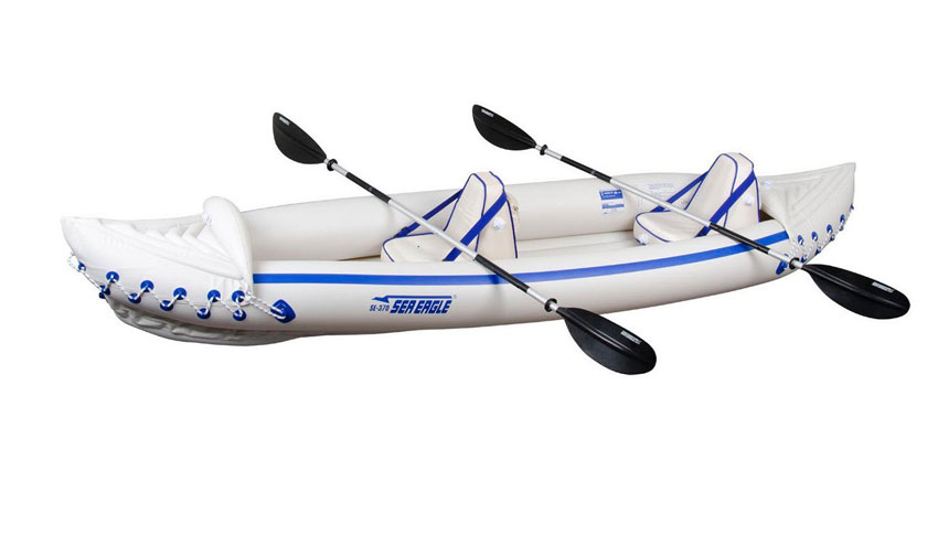 Sea Eagle SE370K_P Inflatable Kayak Review