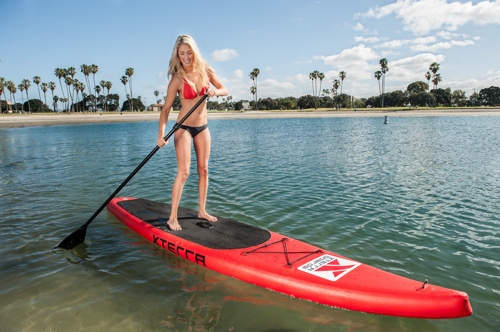 Xterra Boards Inflatable Touring Bundle Paddle Board